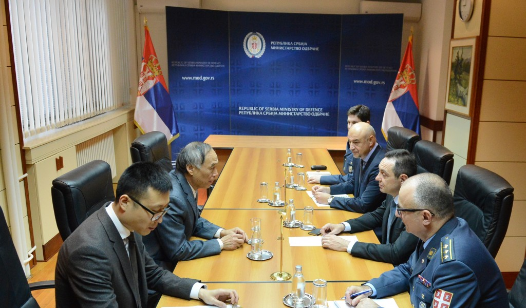 Minister of Defence meets with Ambassador of the People s Republic of China