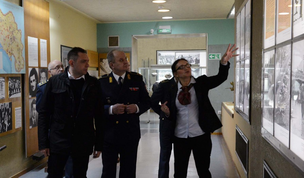 Министар одбране обишао Војни музеј