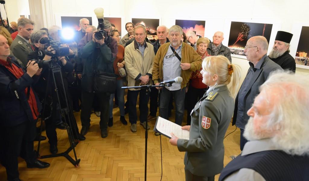 Отворена изложба 49 дана пакла на Београдом