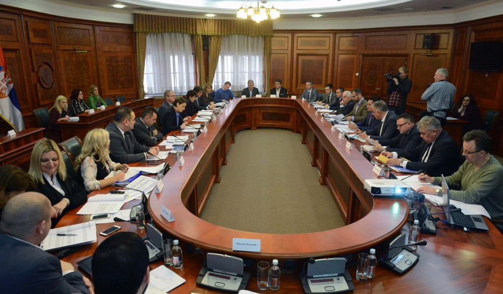 Meeting Held of the Commission for the Preparation of Draft Programme for Housing Construction for the Members of Security Forces