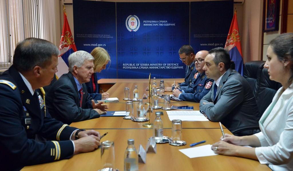 Састанак министра Вулина и амбасадора Скота