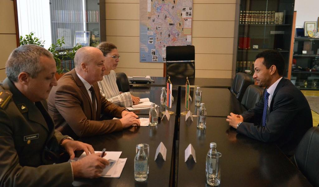 State Secretary Živković meets Ambassador of IR Mauritania