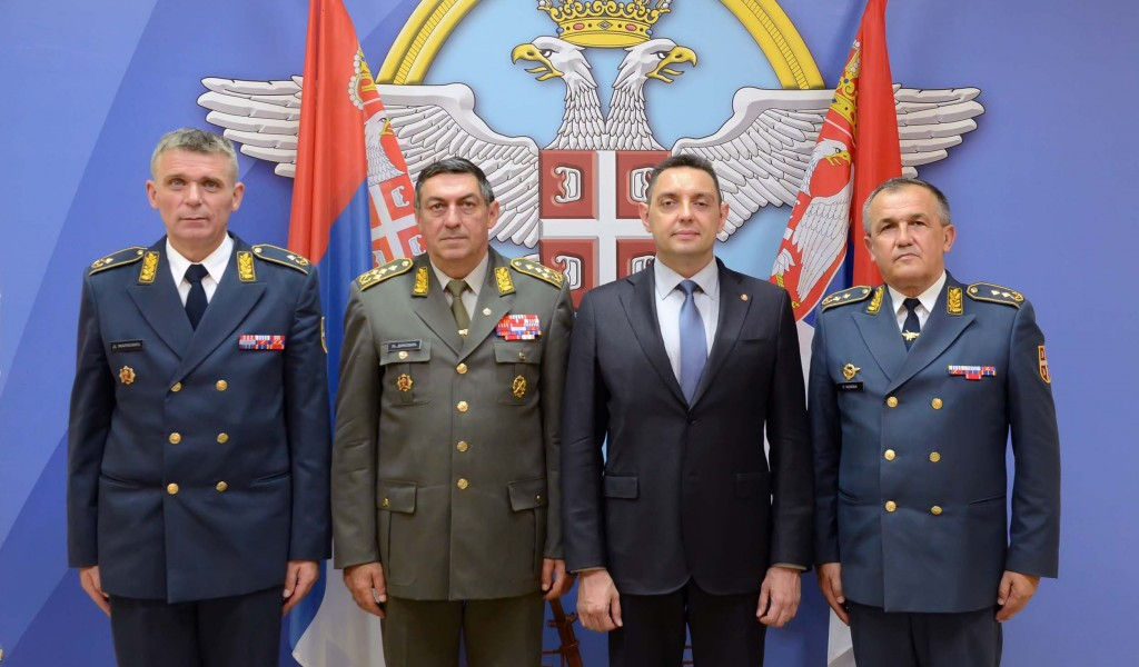 Примопредаја дужности команданта Ратног ваздухопловства и противваздухопловне одбране