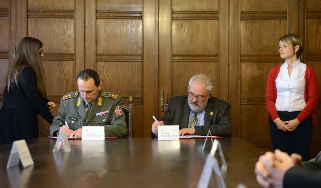 SASA and the Serbian Armed Forces custodians of fundamental values