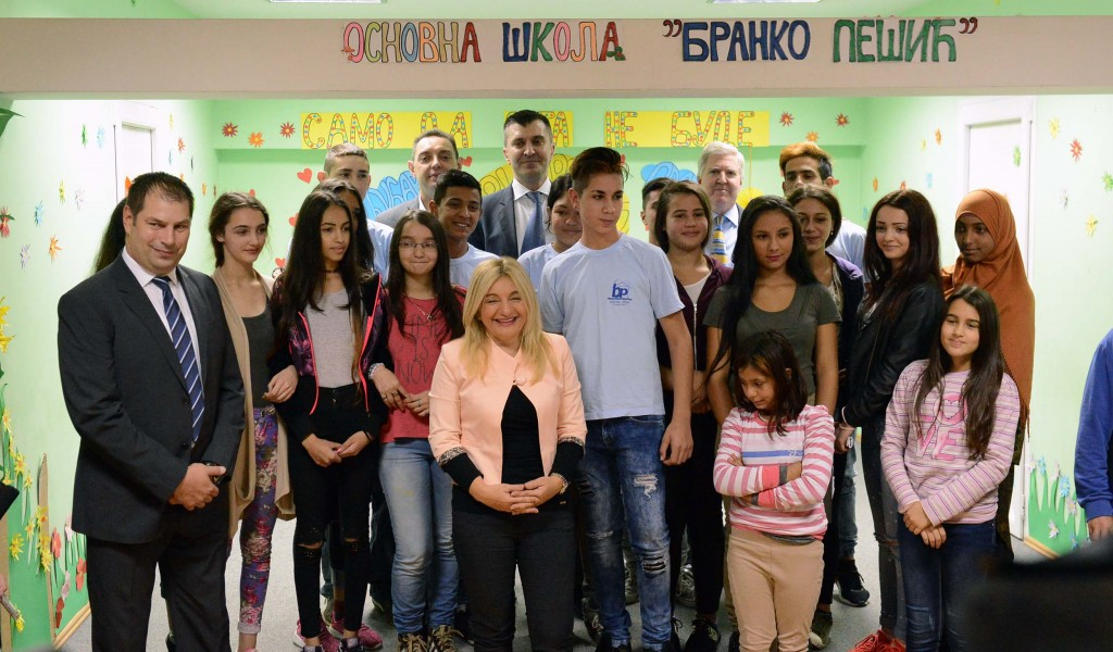 Republic of Serbia looks after and takes care of children