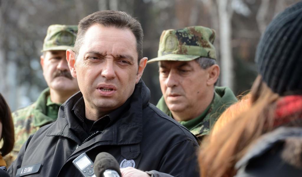 Ministar Vulin Vojska Srbije je spremna da ispuni svako naređenje vrhovnog komandanta