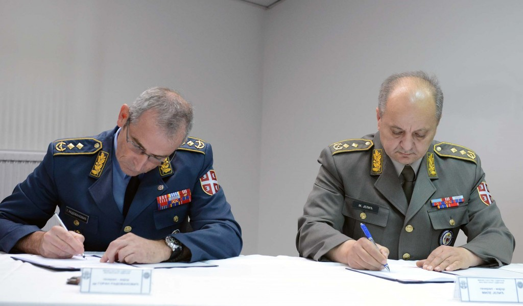 Примопредаја дужности у Инспекторату одбране