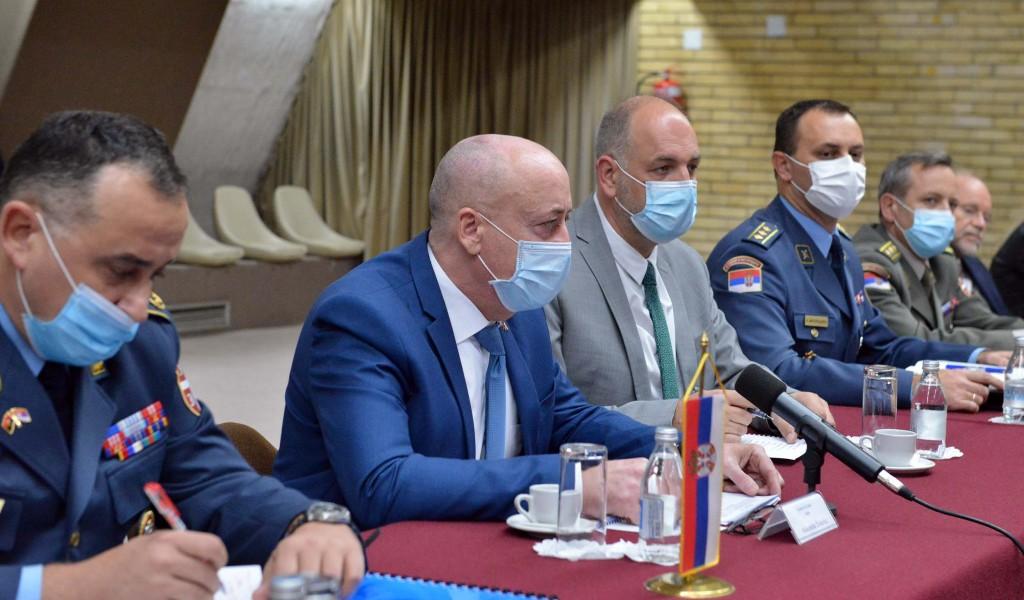 Пето заседање Заједничког српско анголског комитета за сарадњу у области одбране