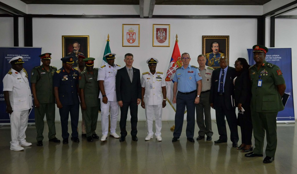 Делегација Националног колеџа Савезне Републике Нигерије посетила Универзитет одбране