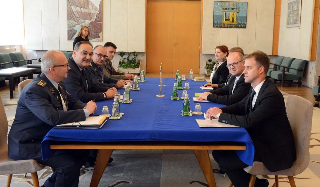 Састанак државних секретара министарстава одбране Србије и Словеније