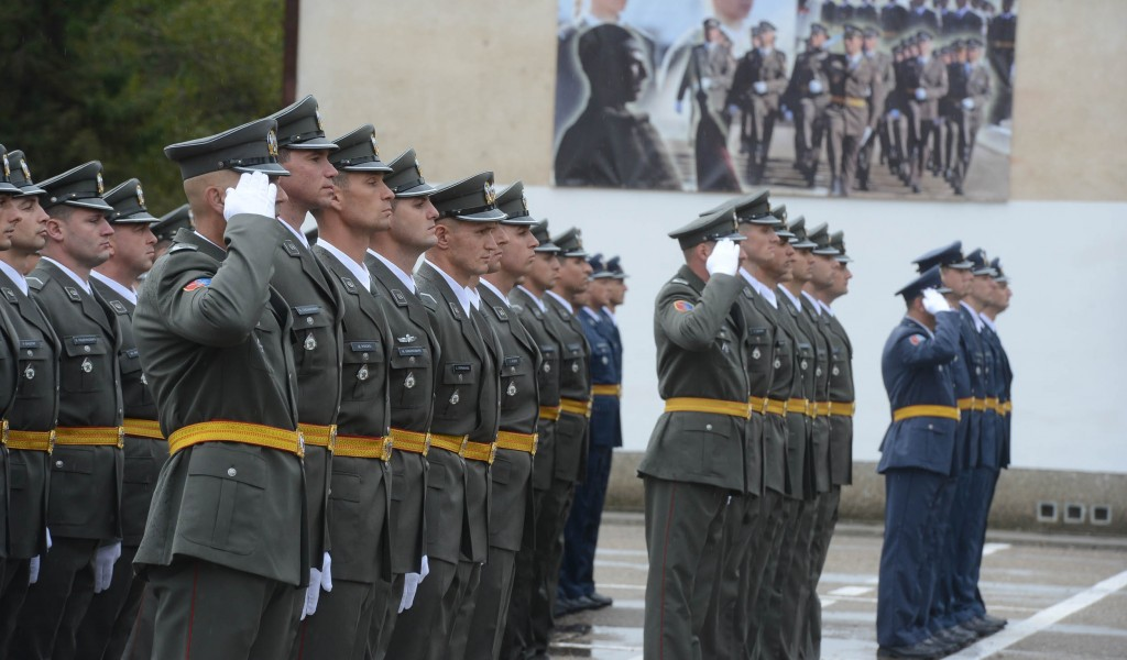 Промоција најмлађих подофицира Војске Србије