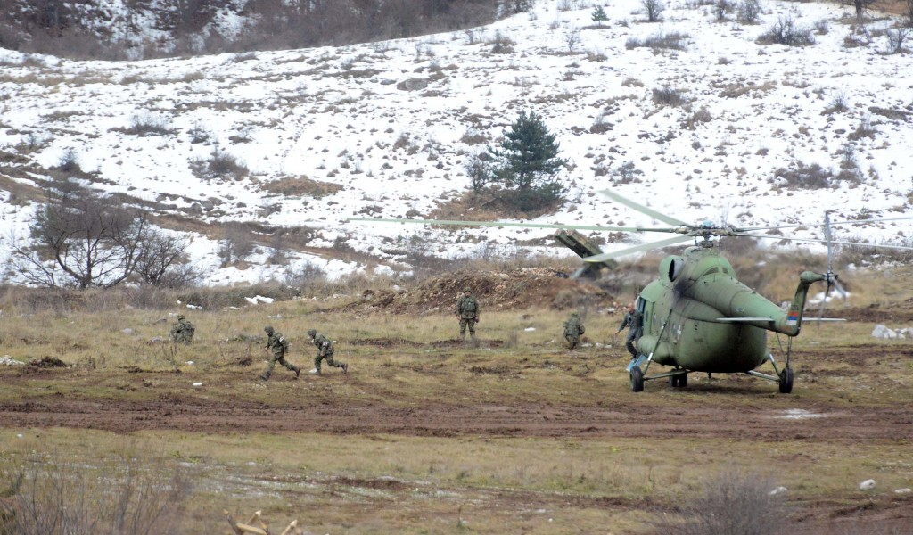 Winter 2017 exercise carried out