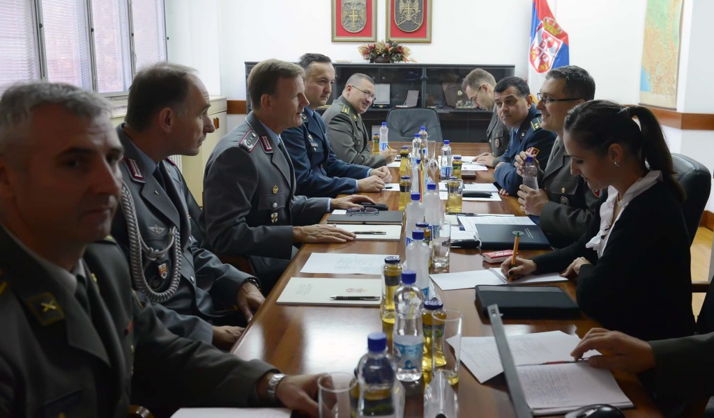 Visit by a Representative of the Federal Ministry of Defence of Germany