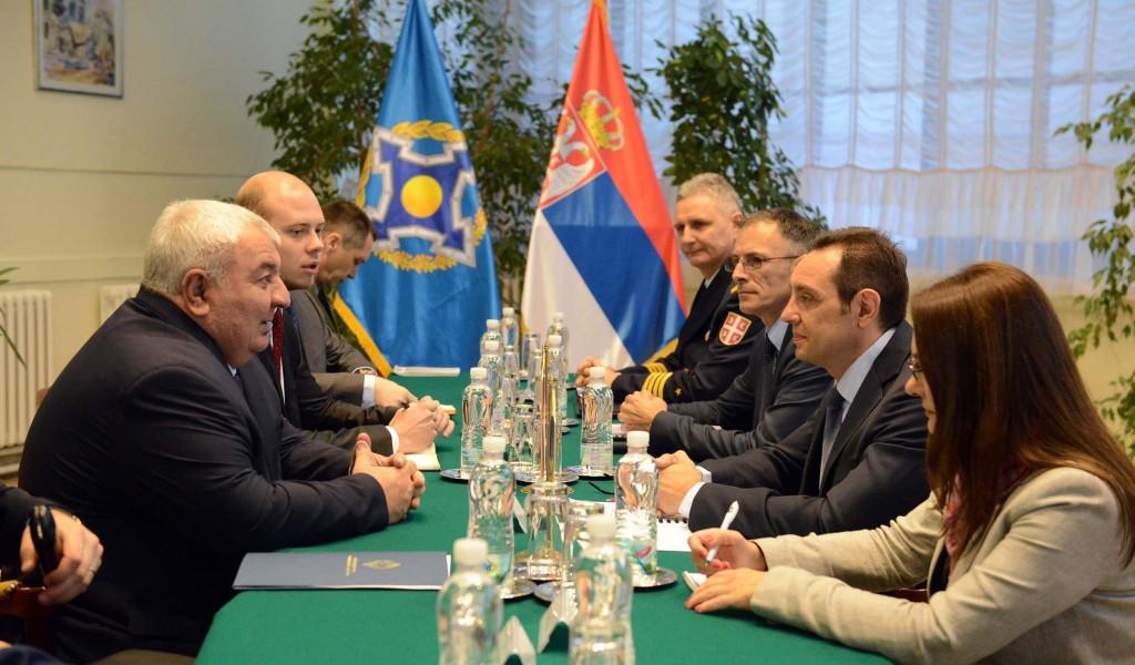 Састанак министра одбране са Генералним секретаром ОДКБ