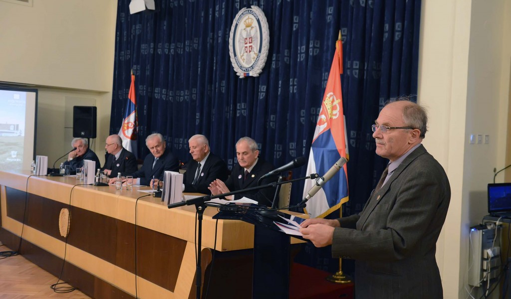 Promotion of study Yugoslav Armed Forces in 1999 Defense War
