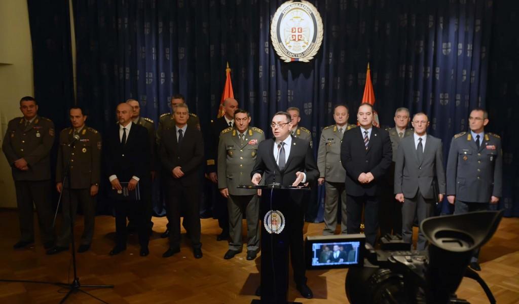 Godišnja konferencija za medije ministra odbrane Građani znaju da mogu da se oslone na Vojsku