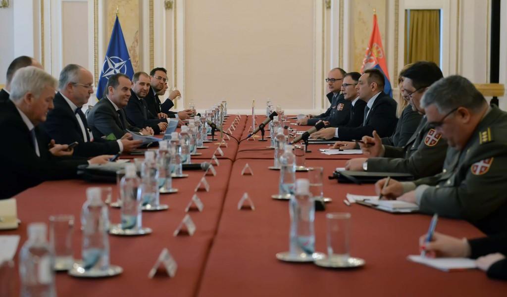 Састанак министра одбране и делегације Парламентарне скупштине НАТО