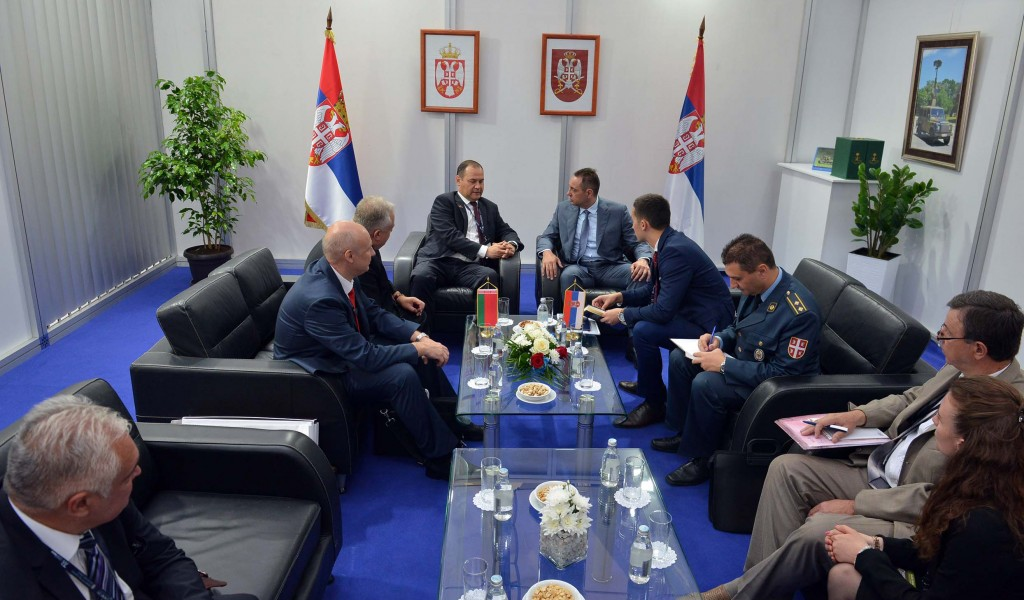 Minister Vulin hosted representatives of the Belarusian SAMI