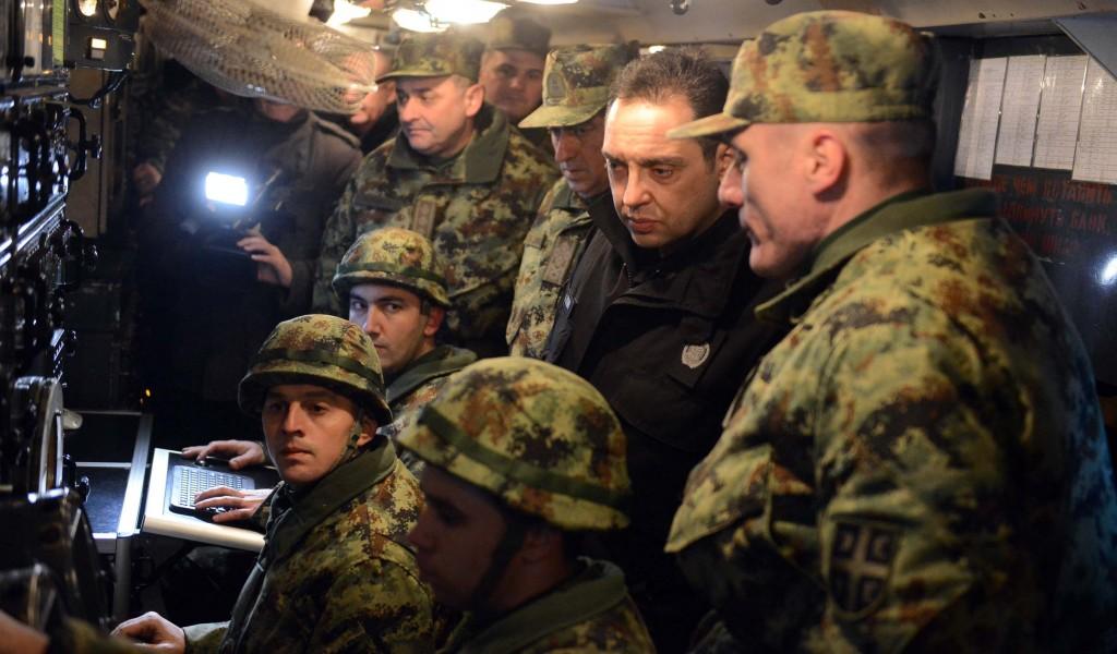 Ministar odbrane dočekao Novu godinu s pripadnicima 250 raketne brigade