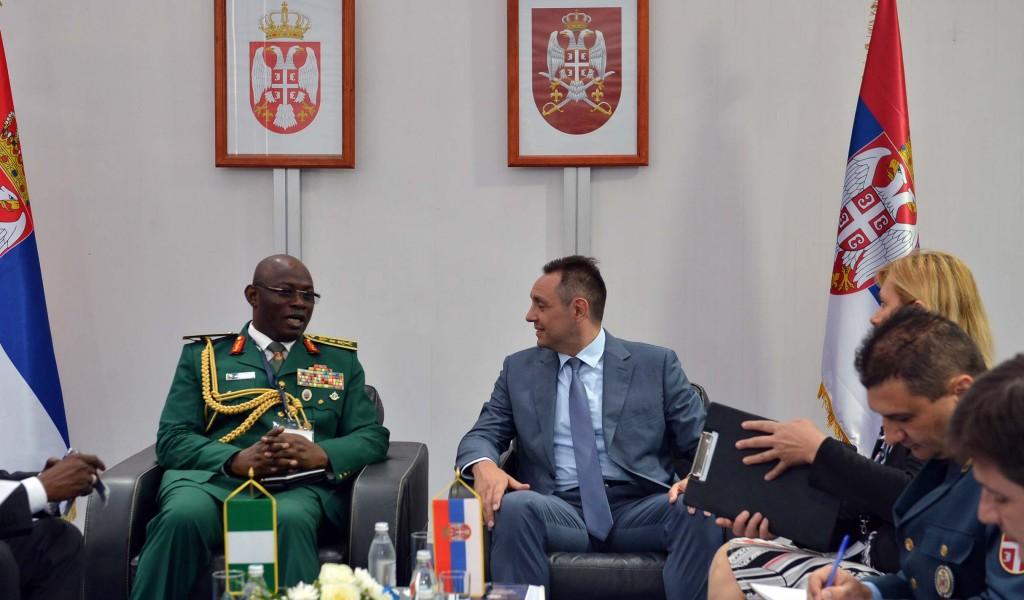 Sastanak ministra Vulina sa delegacijom Nigerije
