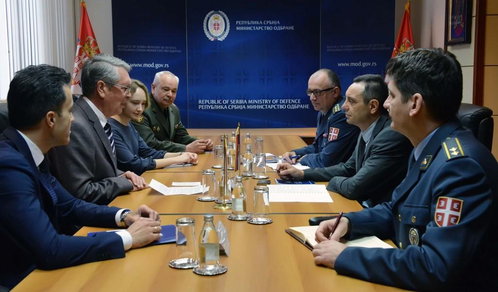 Sastanak ministra Vulina i ambasadora Čepurina