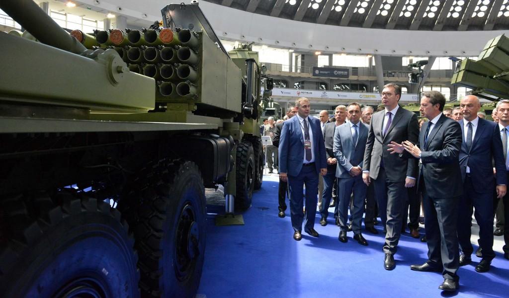 Отворен сајам наоружања и војне опреме Партнер 2019