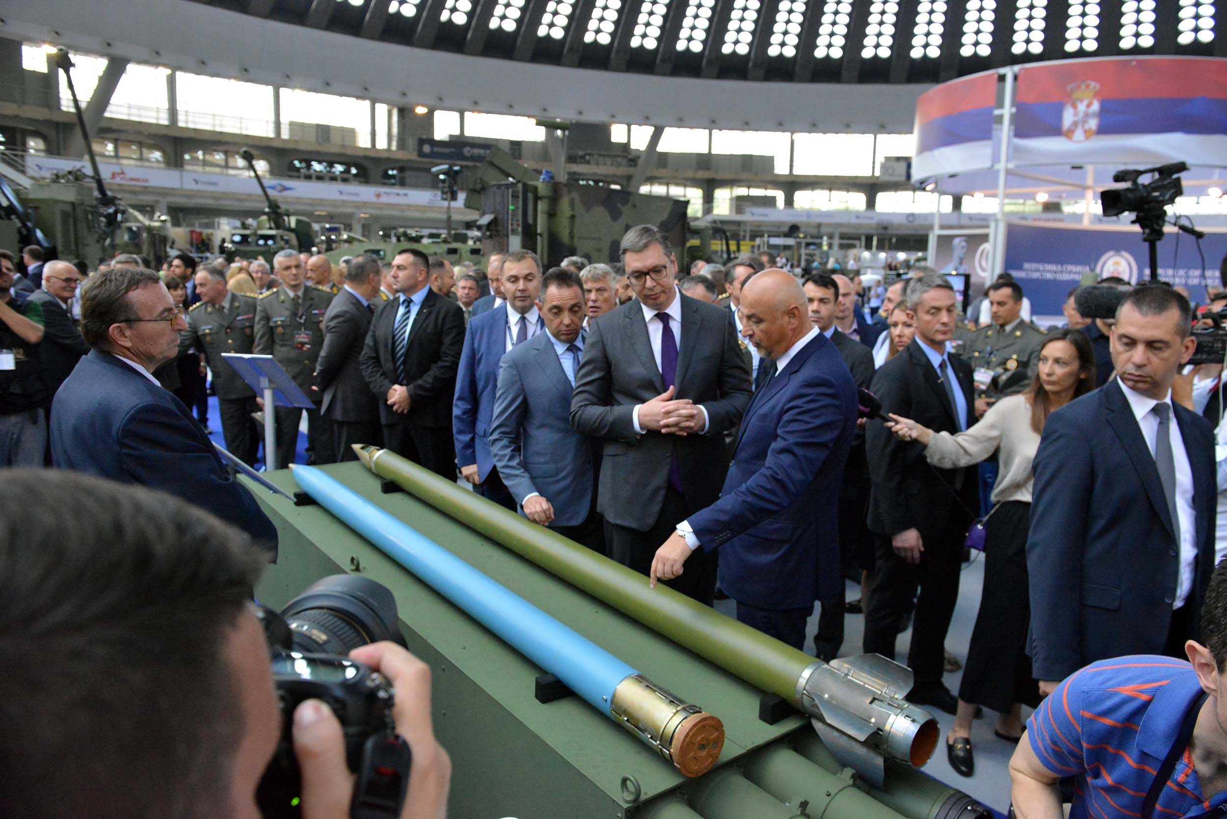 Partner 2019 Arms and Military Equipment Fair opens