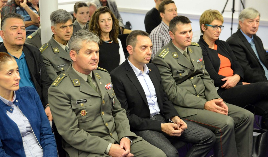 Министар Вулин на промоцији књиге Срби амерички ратни хероји