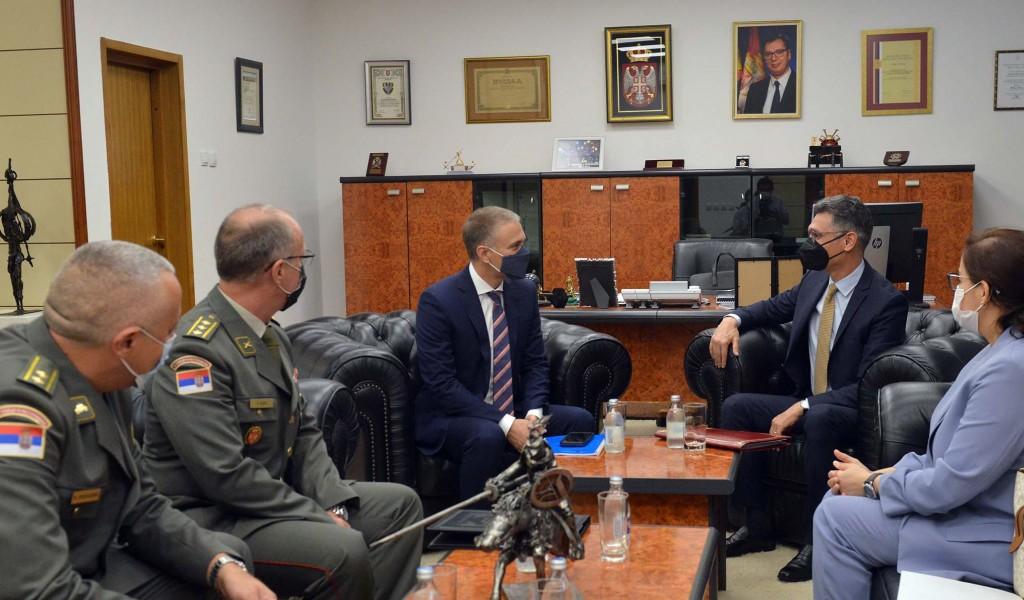 Minister Stefanović meets with Ambassador of Morocco