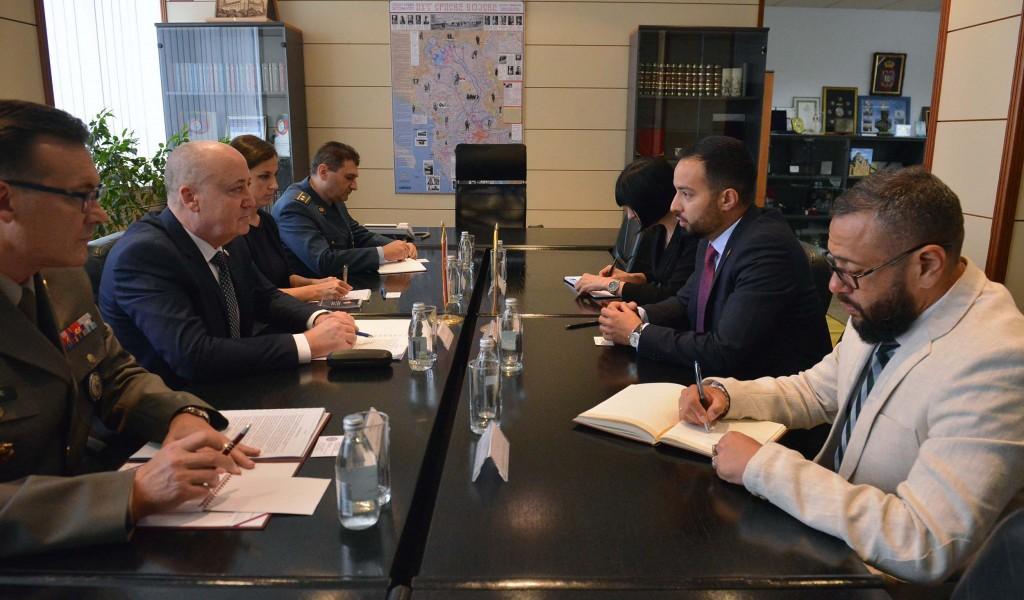 Састанак државног секретара Живковића са амбасадором Венецуеле