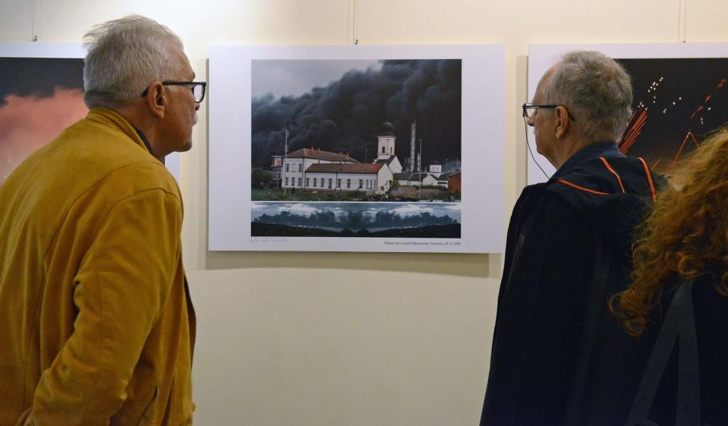 Изложба 45 паклених ноћи над Београдом пред београдском публиком