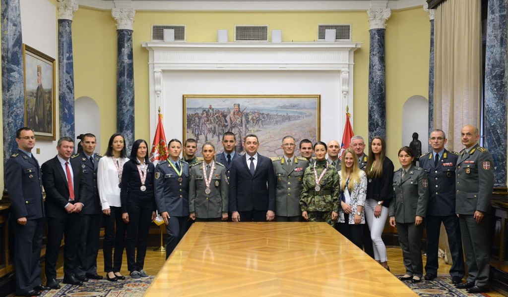 Minister Vulin Serbian Armed Forces are establishing a sports unit