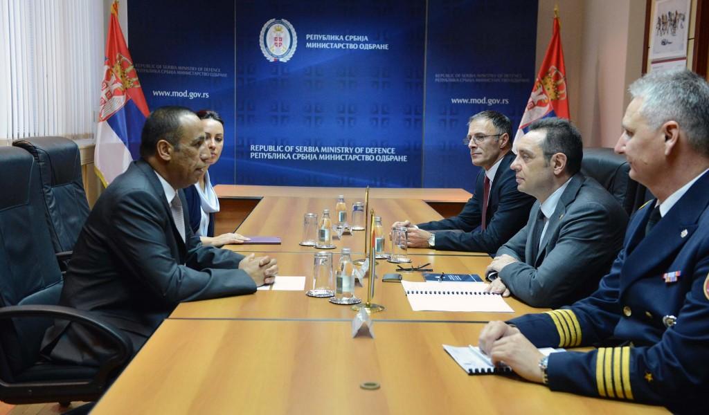 Sastanak ministra odbrane sa ambasadorom Ujedinjenih Arapskih Emirata