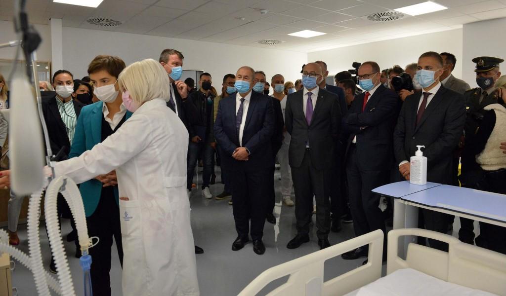 Отворена ковид болница у Новом Саду