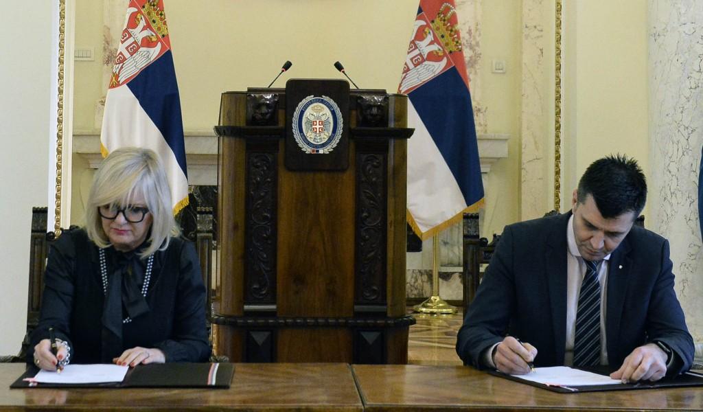 Донација Директората цивилног ваздухопловства Србије Министарству одбране