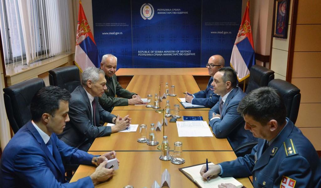 Sastanak ministra Vulina i ambasadora Bocan Harčenka