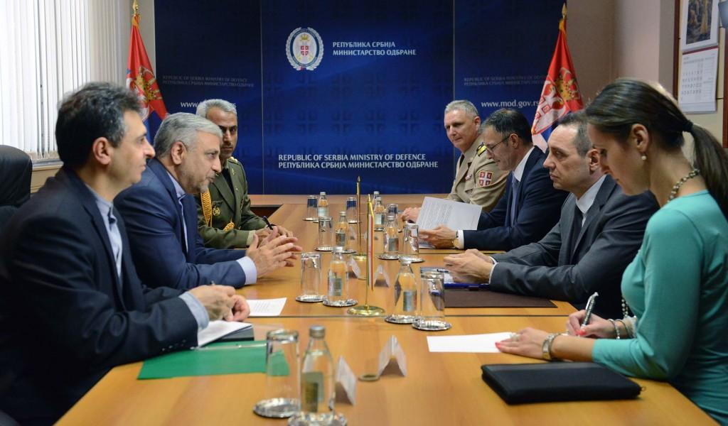 Пријатељски односи Србије и Ирана
