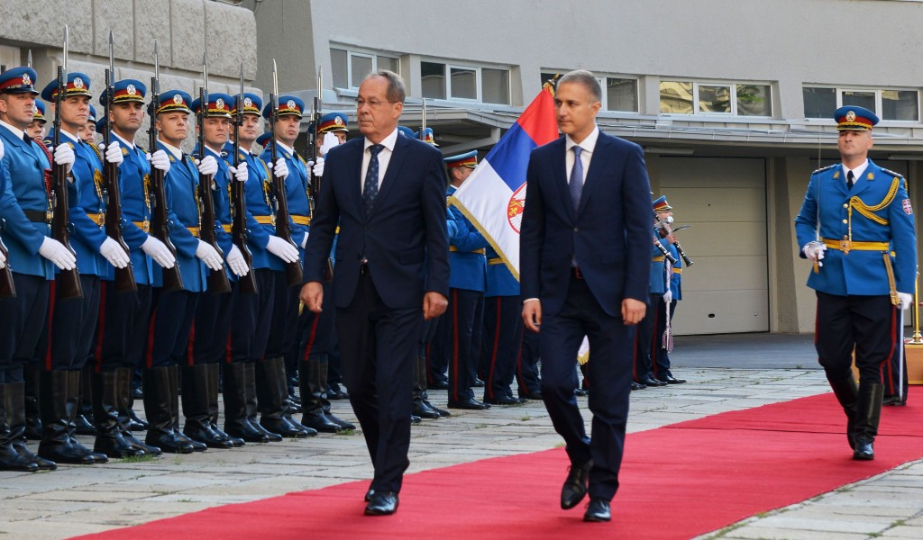 Meeting of Defence Ministers of Serbia and Bosnia and Herzegovina