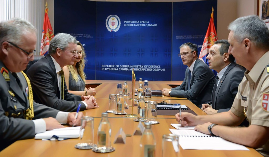 Intensive cooperation with Austria