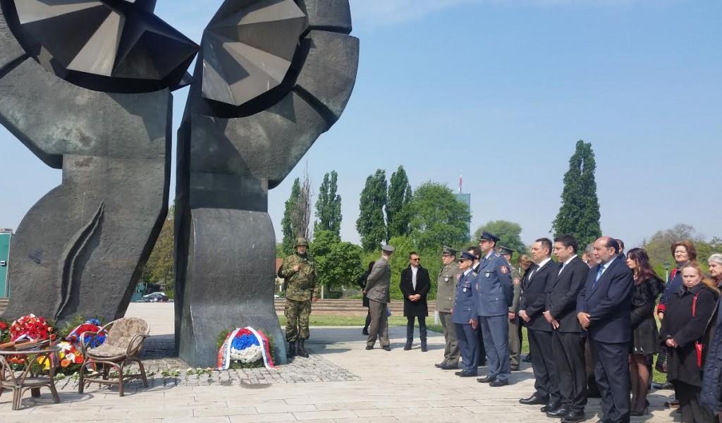 Obeležen Dan sećanja na žrtve holokausta