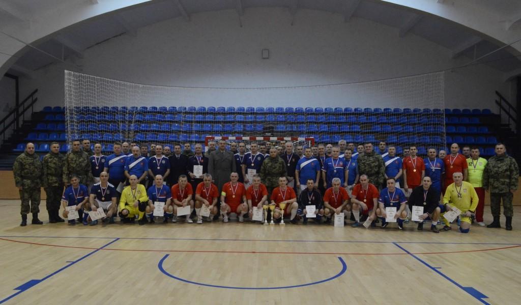 Одржан Божићни турнир Војске Србије у малом фудбалу