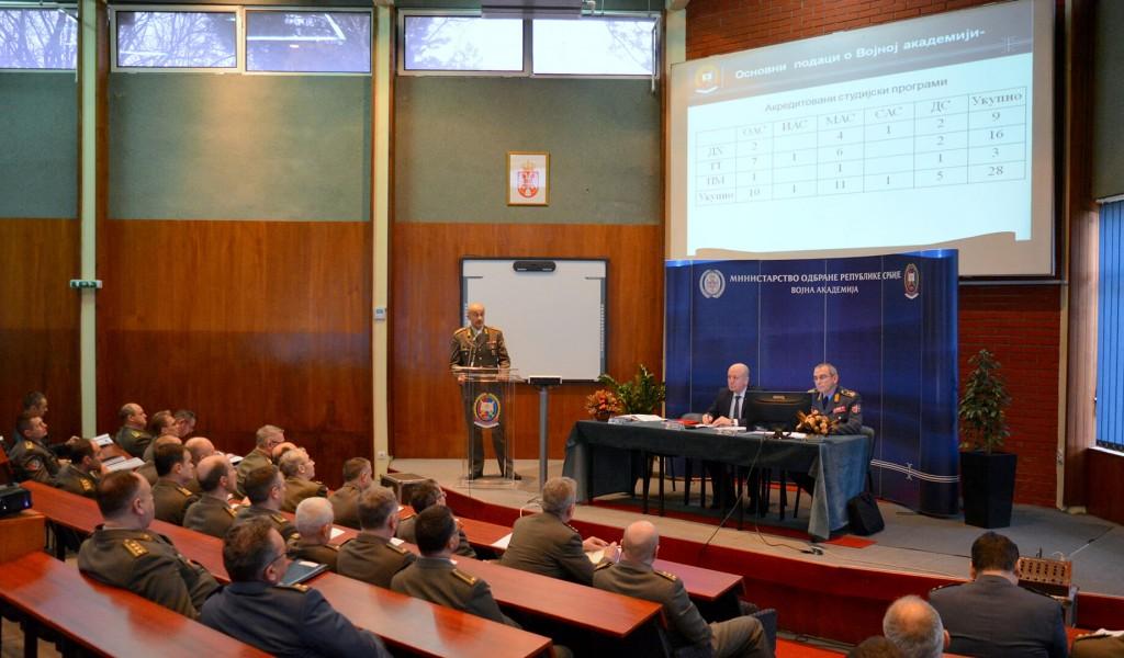 Анализа Годишњег плана рада Војне академије за 2018 годину