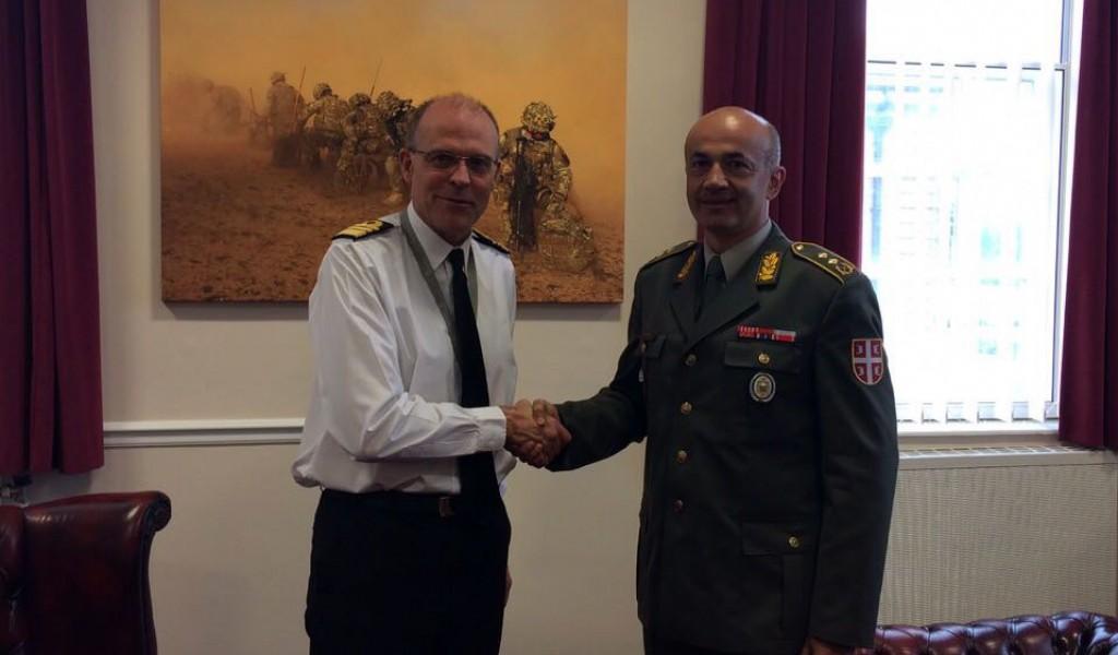 Delegacija Ministarstva odbrane u Velikoj Britaniji