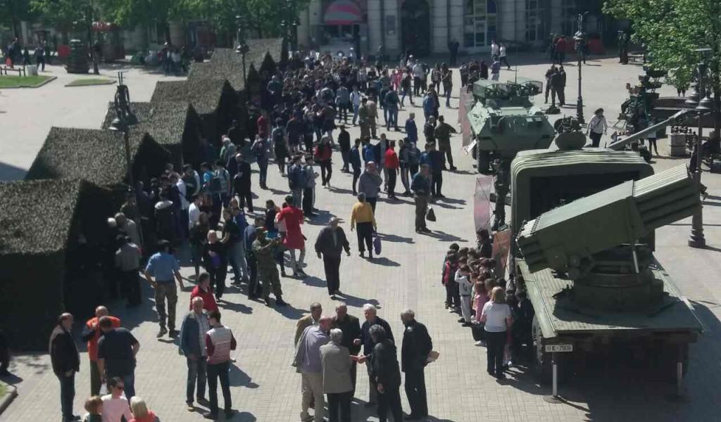 Прикази наоружања и војне опреме поводом Дана Војске Србије