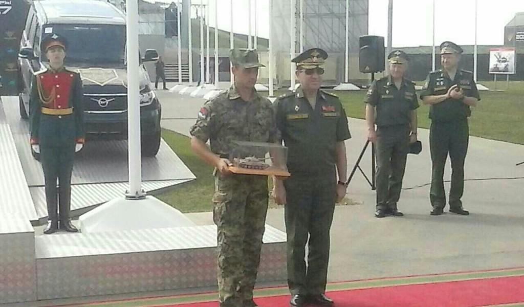 Српски потпоручник најбољи командир тенка на тенковском биатлону