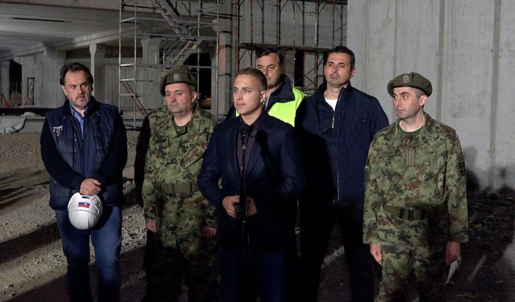 Стефановић Вакцинисано више од 20 000 припадника система одбране