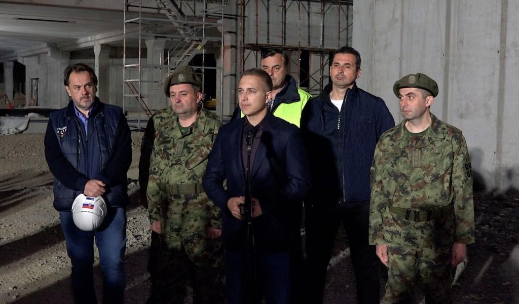 Стефановић Снагом Војске гарантујемо слободу и независност