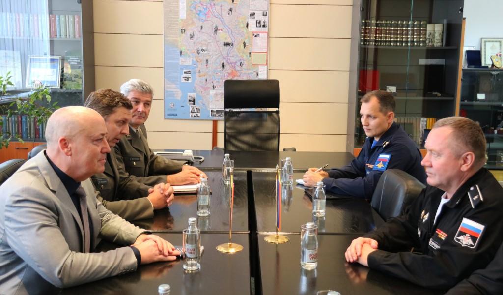 Састанак државног секретара са делегацијом верске службе Оружаних снага Руске Федерације