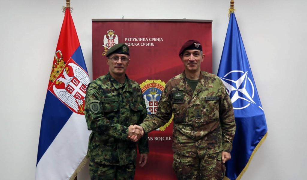 Састанак са командантом Кфора у Београду