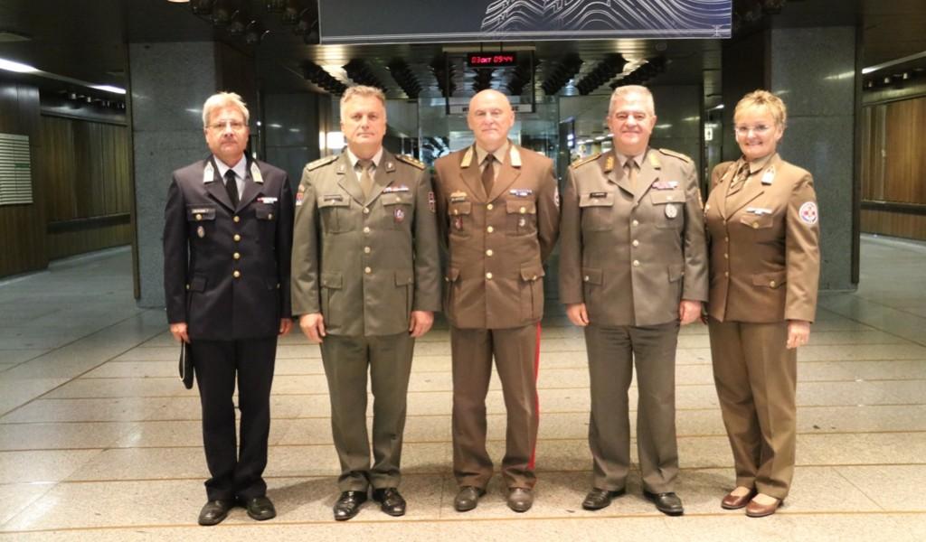 Načelnik sanitetske službe Mađarske u poseti vojnom zdravstvu